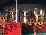 CM Anandiben, Governor Kolhi at Flag Hoisting in Devbhoomi Dwarka on R Day