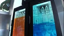 Crystal Frame transparent screen, interactive