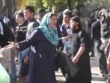 """Jihad en plein Paris - @NB_off """"égorgez les juifs"""",""""mort aux juifs"""", burqa - Manifestation islamiste"""