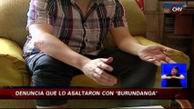 Supuesta víctima de la Burundanga entregó billetera, celular y claves bancarias - CHV Noticias