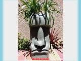 Sm Easter Island Planter (Grey Granite)