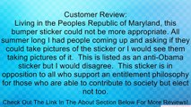 Why Earn It? Vote Democrat - Funny Anti Obama Political Bumper Stickers Review