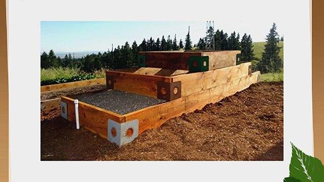 Gardeners Gadgets Gardeners Gadgets Quick Corners for Raised Garden Beds - Sunburst - Set of