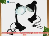LimoStudio Table Top Light Kit with LED Lighting Photo Light Set with Clamp AGG1264