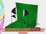 ePhoto 3 Softbox Video Photography Studio Continuous Lighting Kit