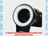 YONGNUO WJ-60 Macro Photography Continuous Ring LED Light for Camcorder or DSLR Cameras