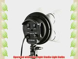 ePhoto 3 Light Softbox Boom Stand Hair Light 2700 Watt Continuous Video Photo Studio Lighting