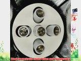 ePhoto Pro Studio Video 4500W Digital Photography Studio 3 Softbox Lighting Kit Light Set and
