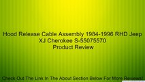 1984-1996 Corvette Hood Release Cable Assembly