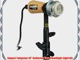 Impact Tungsten 10 Reflector Two-Floodlight Light Kit