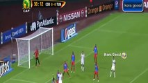 Tunisie vs RD Congo 1-1 but complet 2015