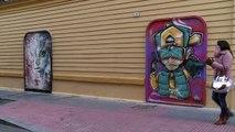 Espagne: le street art pour panser les plaies de Malaga