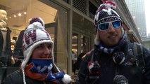Le blizzard réduit la grouillante New York au silence et au vide