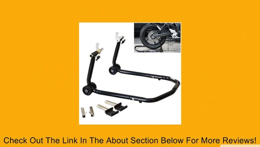 T-Rex Racing Black Front /& Rear /& Triple Tree Motorcycle Stand V Universal