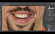 Franck Ribéry Extreme Makeover Photoshop - Franck Ribéry relooké sur Photoshop