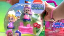Play Doh Bubble Guppies Molly & Nurse Peppa Pig Medical Case at the Mermaids Check-Up Center Toy