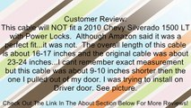 APDTY 035471 Door Latch Release Cable Assembly Front Left or Right For 2007-2013 Chevy Silverado / 2007-2013 GMC Sierra (25880301) Review