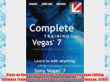 Class on Demand Complete Training for Sony Vegas Editing Software Training Tutorial DVD hosted