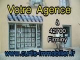 Appartement à vendre à Saint Etienne (42000) le logement est eau rez de chaussée à 2 pas de l'école d'architecture . Il offre une cuisine équipée, 1 chambre, salle de bains et un balcon, terrasse sans vis-à-vis. Idéal pour un 1 ier achat ou investissement