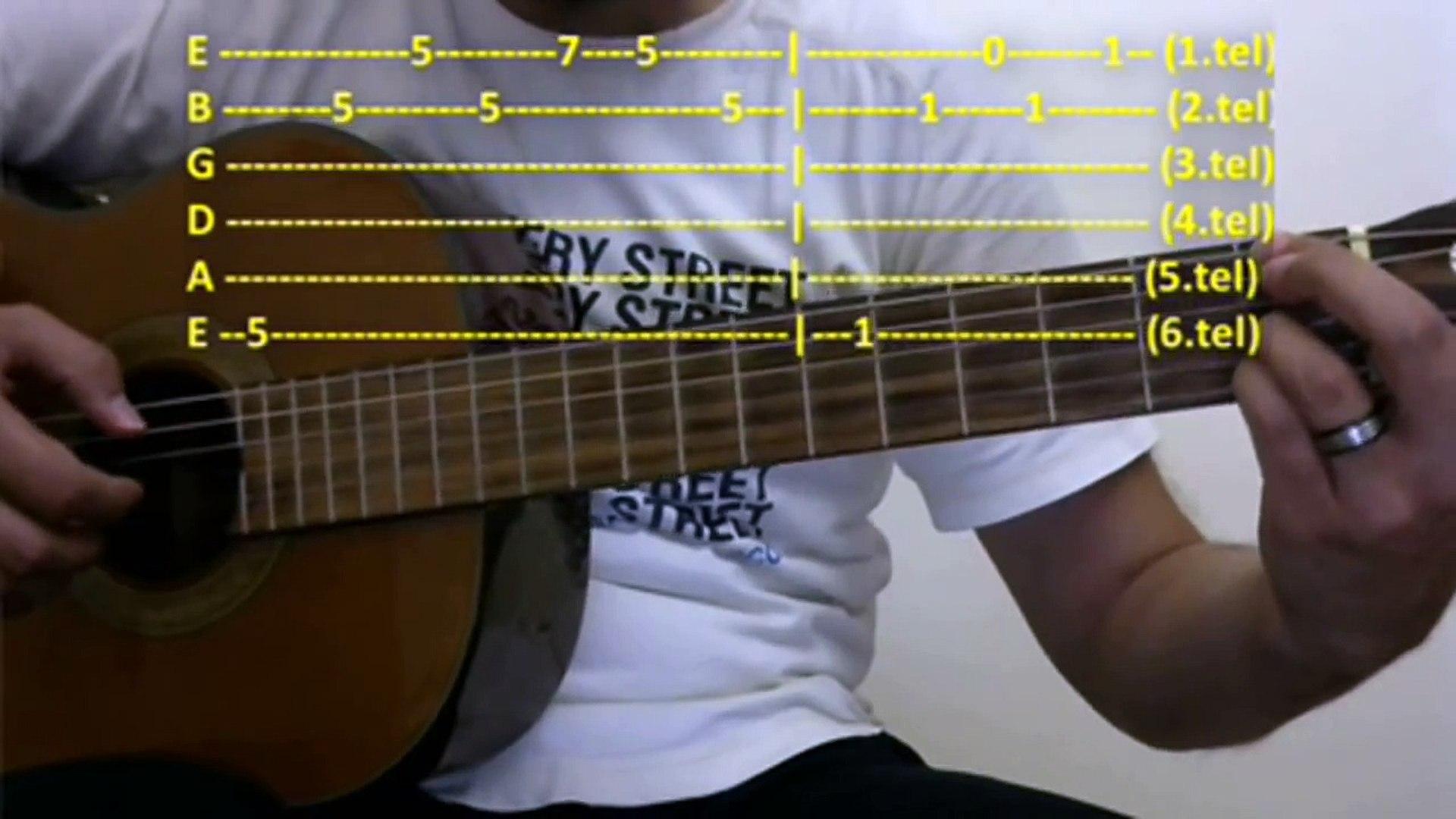 Gitar Dersi - Her Aşk Bir Gün Biter (Oğuzhan Koç)