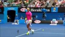 Rafael Nadal vs Tomas Berdych australian open 2015 highlights HD    27-1-2015