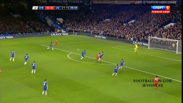 Chelsea 1 - 0 Liverpool All Goals and Full Highlights 27/01/2015 - Capital One Cup