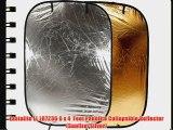 Lastolite LL LR7236 6 x 4  Feet Panelite Collapsible Reflector (Sunfire/Silver)
