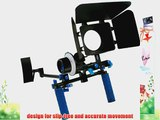 ePhoto DSLR Rig Chest Camera Stabilizer Mount Follow Focus Matte Box for 5D 7D 60D T2i T3i