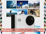 Flylinktech? M10 NEW for HD 1080P 60fps Sports Action Camera H.264 12MP Helmet Cam 1.5 -inch