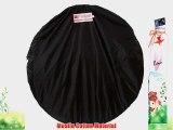 Studiohut 5'x7' Thunder Gray/Black Dual Side Large Collapsible Twist Photo Video MUSLIN Backdrop/Background