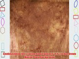 CowboyStudio 100% Cotton Hand Painted 6' X 9' Tie Dye Brown Muslin Photo Background