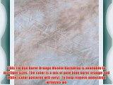 StudioPRO Hand Painted Tie Dye Burnt Orange Muslin Backdrop 10' x 20' Photography Studio Background