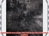 CowboyStudio Hand painted 10ft X 20ft Tie Dye Gray Muslin Photo Backdrop