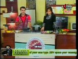 Chicken Corn Soup and Hot and Sour Soup - Chef Bashir Khan in Flame On Hai