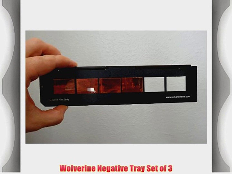 Wolverine Data Slide Trays Set of 3