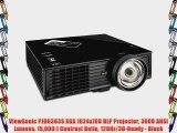 ViewSonic PJD6383S XGA 1024x768 DLP Projector 3000 ANSI Lumens 15000:1 Contrast Ratio 120Hz/3D-Ready?-