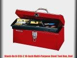 Best buy Stack-On R-516-2 16-Inch Multi-Purpose Steel Tool Box Red