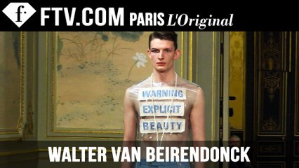 Walter Van Beirendonck Designer's Inspiration | Paris Men's Fashion Week Fall 2015-16 | FashionTV