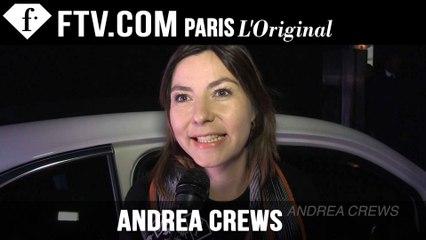 Andrea Crews Men Designer's Inspiration | Paris Men's Fashion Week Fall 2015-16 | FashionTV