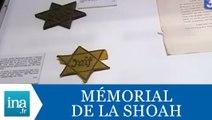 Inauguration du Mémorial de la Shoah le 25 janvier 2005 - Archive INA