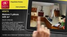 A vendre - maison - MAZE (49630) - 5 pièces - 109m²
