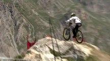 Victoire d'Atherton et MacDonald lors de la Coupe du Monde de mountain bike à Val d'Isère