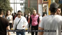 Harcèlement de rue : ils se font piéger par leur mère