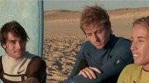Cours de surf avec Lee-Ann Curren pour Kevin Rolland et Xavier Bertoni