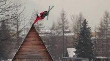 60 secondes de ski freestyle avec Roy Kittler