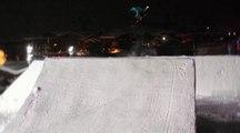 Un gros jump attend les riders du Frostgun Invitational
