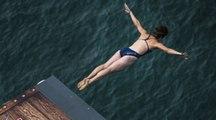 Red Bull Cliff Diving : le premier plongeon des femmes en Italie !