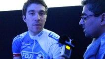 Cyclisme - Thibaut Pinot lors de la présentation de la FDJ