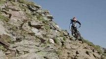 Fabien Barel et Tobias Woggon au coeur des Alpes