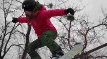 Session street pour la snowboardeuse Marion Haerty